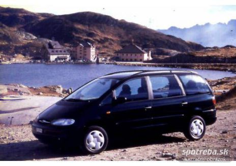 FORD Galaxy  1.9 TDI Ghia - 81.00kW