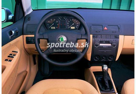 Škoda fabia combi 1.4 16v ambiente - 55.00kw | myfuelmanager