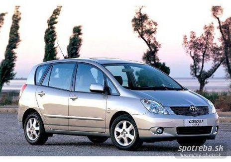 TOYOTA  Corolla Verso 1.6 VVT-i Terra LPG